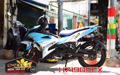 TEM EX150 XANH LAM SPORT