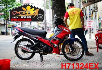 TEM EX 135 RED MATTE